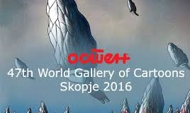 Be Part of the 47th World Gallery of Cartoons – Skopje 2016