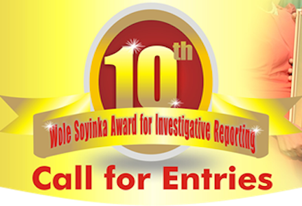 Call For Entries: Woke Soyinka Award For Investigative Reporting