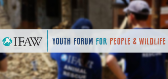 Global Youth Forum for People and Wildlife 2016 – South Africa (fully-funded)