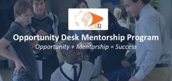 Opportunity Desk Mentorship Program