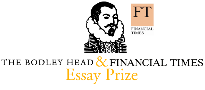 Enter for the 2015 Bodley Head/Financial Times Essay Prize