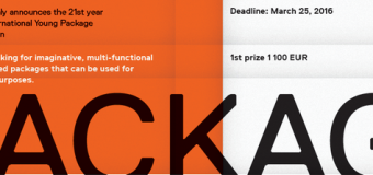 Enter the International Competition of Packaging Design