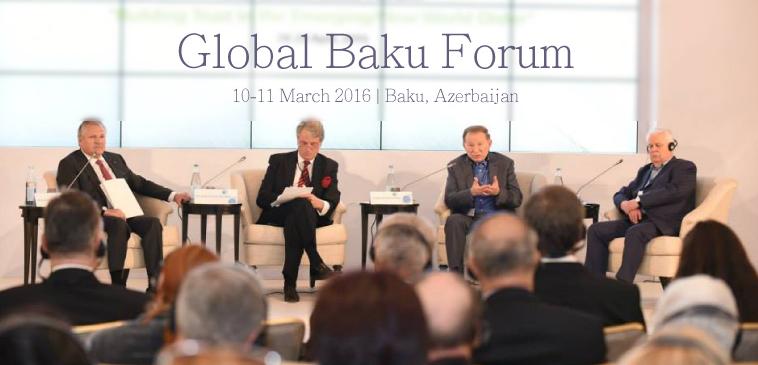 4th Global Baku Forum – Young Leaders Program 2016 in Baku, Azerbaijan