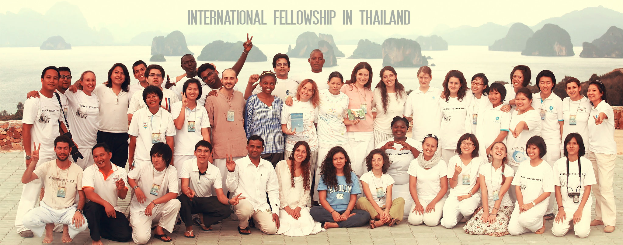 Peace Revolution International Youth Fellowship in Thailand 2016