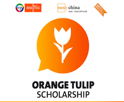 Orange Tulip Scholarship Programme for Chinese Students in Holland 2016
