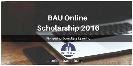 2016 Scholarships For BAU Online Courses
