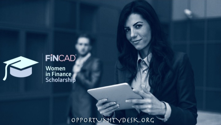 FINCAD Women in Finance Scholarship 2016 (US$10,000 award for Studies)