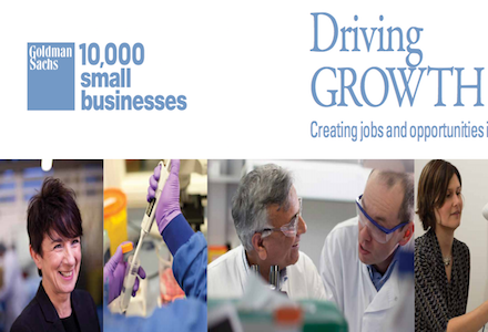 Goldman Sachs 10,000 Small Businesses UK programme 2016 (Fully-Funded)