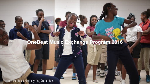 OneBeat International Music Exchange Program 2016 – USA (fully-funded)