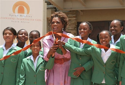 Image result for oprah winfrey school africa