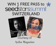Win Free Executive Pass to SeedStars Summit 2016- Switzerland
