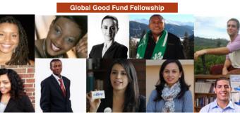 Global Good Fund Fellowship For Social Entrepreneurs 2017