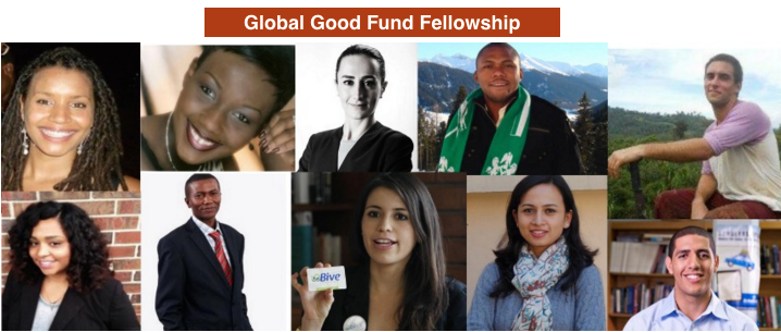 Global Good Fund Fellowship For Social Entrepreneurs 2017