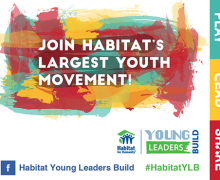 Habitat for Humanity Young Leaders Build 2016 Grant