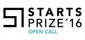 STARTS Prize 2016 ( €20,000 Cash Grants)