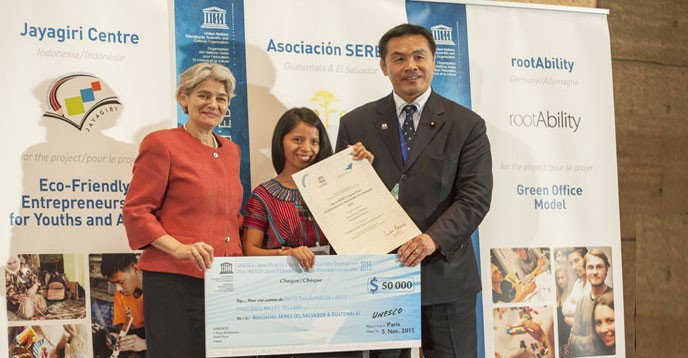 UNESCO-Japan Prize on Education for Sustainable Development