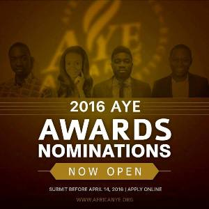 African Youth Excellence (AYE) Awards 2016