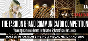 Visual Fashion Brand Communicator Competition