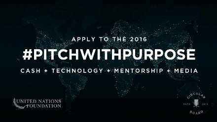 #PitchWithPurpose 2016 For Women Entrepreneurs ($10,000 Cash Award)