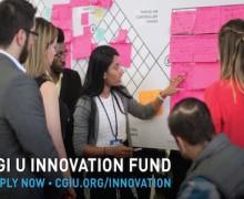 Clinton Global Initiative University (CGI U) Innovation Fund 2016