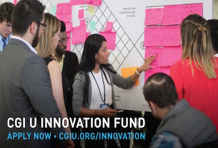 Clinton Global Initiative University (CGI U) Innovation Fund 2016