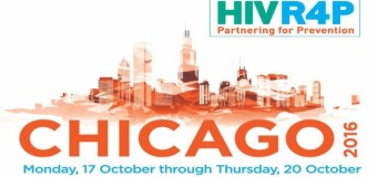 Funded Fellowship to attend HIVR4P Conference 2016 in Chicago, USA