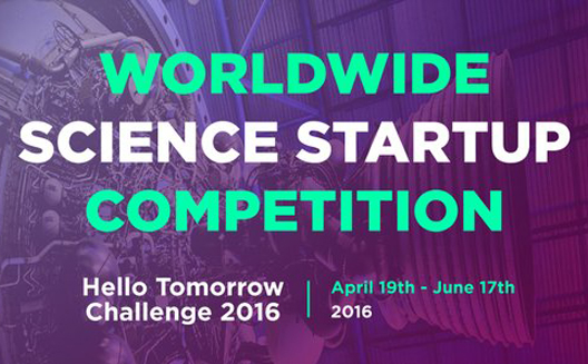 Hello Tomorrow Challenge 2016 (Grand Prize of €100K Available)