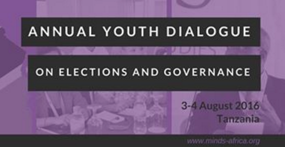 MINDS Annual Youth Dialogue 2016 in Dar es Salaam, Tanzania (All Expenses Paid)