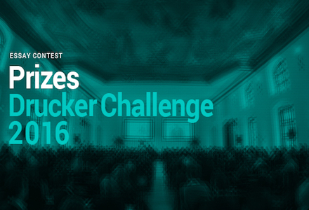 Global Peter Drucker Challenge 2016 (EUR 1000 Prize Money & Trip to Vienna)
