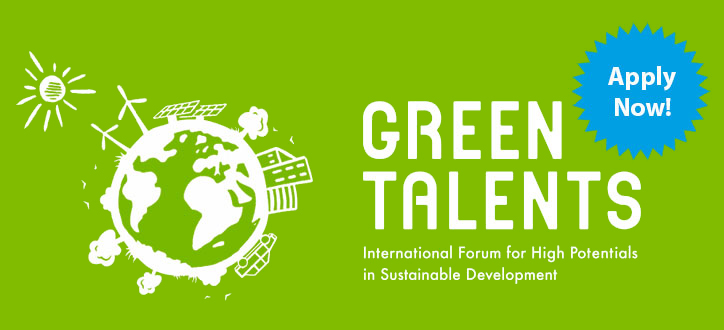 Enter the Green Talents Competition 2016 – Get a Fully Funded Research in Germany!