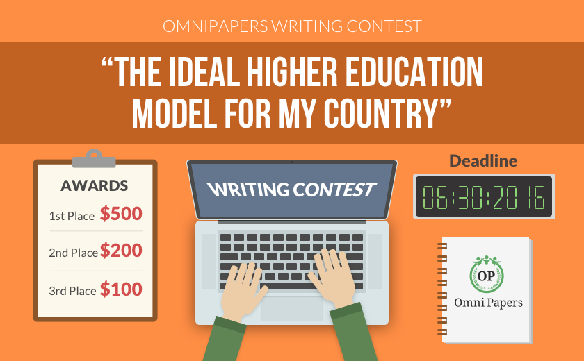 Enter the 2016 OmniPapers Writing Contest – Win up to $500!