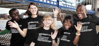 University of Westminster International Postgraduate Scholarships 2016