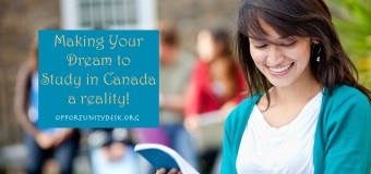 Making Your Dream to Study in Canada a Reality