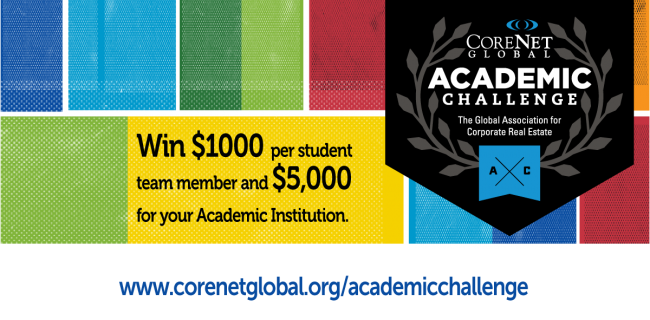 Enter the CoreNet Global Academic Challenge 2016
