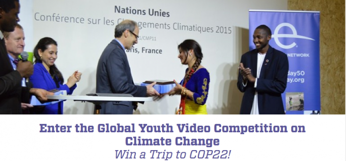 Global Youth Video Competition on Climate Change 2016 – Win a Trip to COP22!