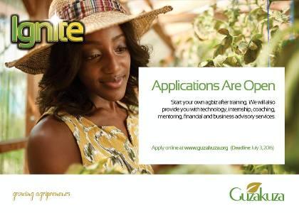 Ignite Agribusiness Programme 2016