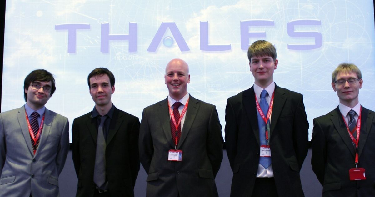 Apply to the Thales Group Graduate Internship