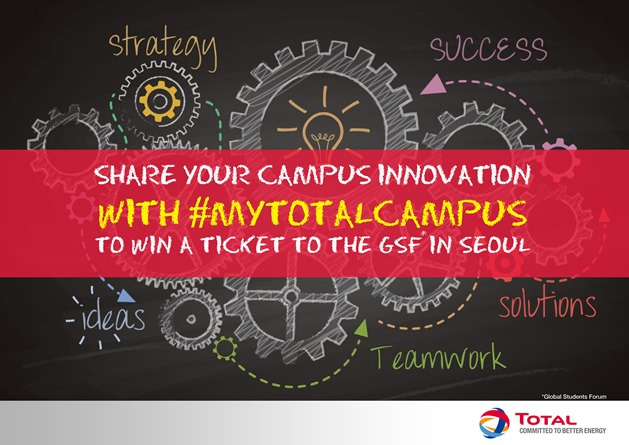 Enter the #MyTotalCampus Challenge 2016 – Win a Trip to Seoul, Korea