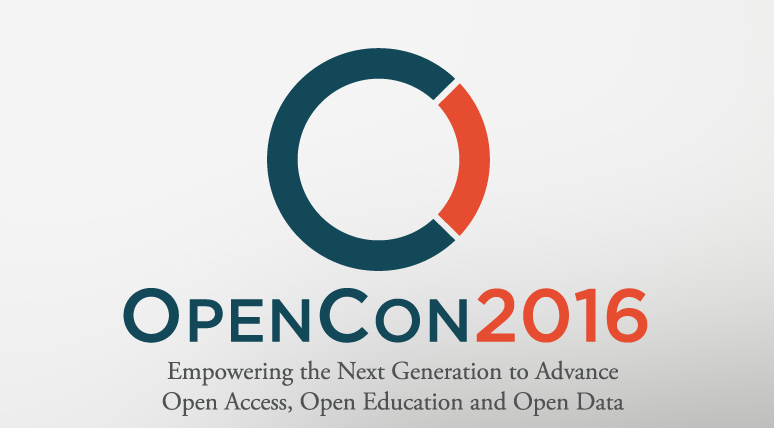 Apply to attend OpenCon 2016 in Washington, DC (Travel Scholarships Available)
