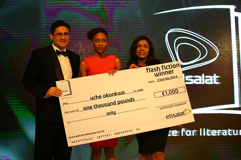 Etisalat Prize for Literature 2016 (£15,000, Book Tour and Fellowship for Winner)