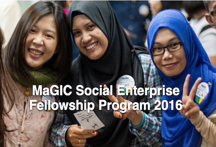 MaGIC Social Enterprise Fellowship Program 2016