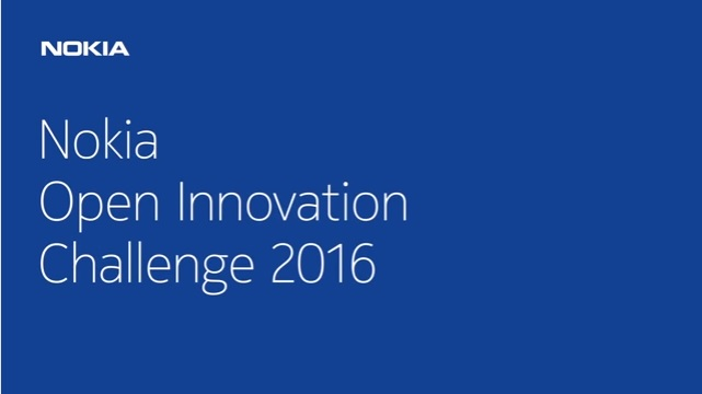 Enter the Nokia Open Innovation Challenge 2016