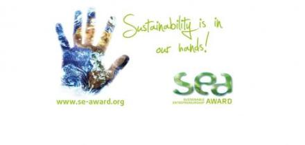 Sustainable Entrepreneurship Award (SEA) 2016  – € 10,000 Award