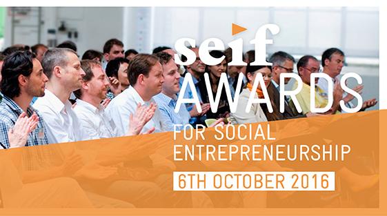 The seif Awards for Social Entrepreneurship 2016 – Win CHF 10'000 in prizes