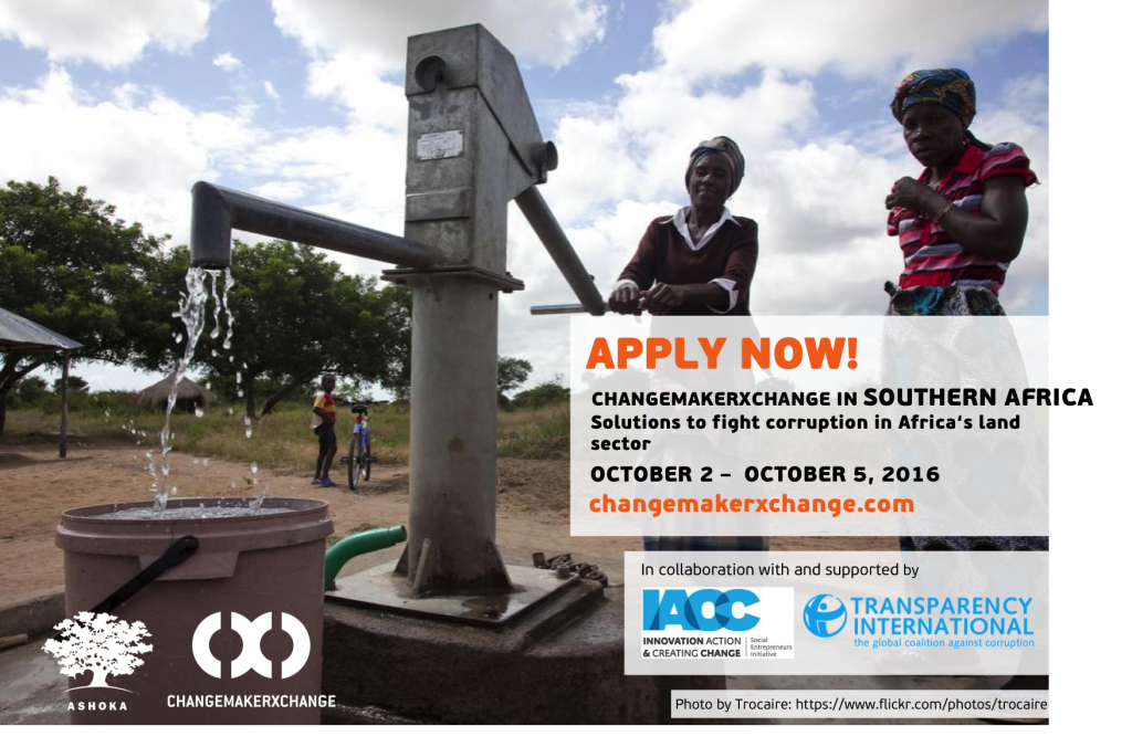 Apply to #Changemakerxchange 2016 in Southern Africa (Fully Funded)