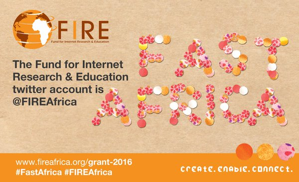Fund for Internet Research and Education (FIRE) Awards 2016