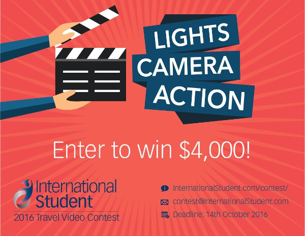International Student Travel Video Contest 2016