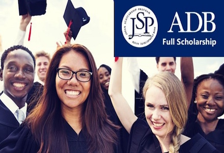 The Asian Development Bank/Japan Scholarship Program (Fully-funded)