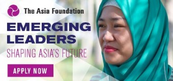 Emerging Leadership For Asia's Future -Asia Foundation Development Fellows Program 2017