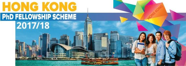 Hong Kong PhD Fellowship Scheme 2017/18